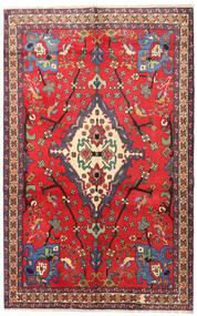 Nahavand Tæppe 160X253 Ægte Orientalsk Håndknyttet Rød/Mørkerød (Uld, Persien/Iran)