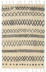Beni Berber Tæppe 180X275 Ægte Moderne Håndknyttet Beige/Mørkegrå (Uld, Indien)