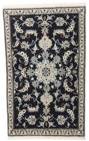 Nain Tæppe 86X140 Ægte Orientalsk Håndknyttet Mørkegrå/Lysegrå (Uld, Persien/Iran)
