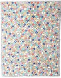 Kelim Afghan Old Style Tæppe 152X194 Ægte Orientalsk Håndvævet Lysegrå/Beige (Uld, Afghanistan)