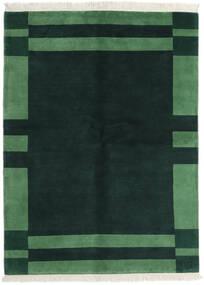 Gabbeh Indisk Tæppe 170X230 Ægte Moderne Håndknyttet Mørke Turkis/Mørkegrøn (Uld, Indien)