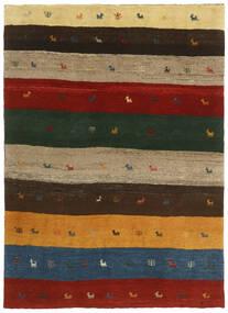 Gabbeh Persia Tæppe 123X176 Ægte Moderne Håndknyttet Mørkegrøn/Rød (Uld, Persien/Iran)