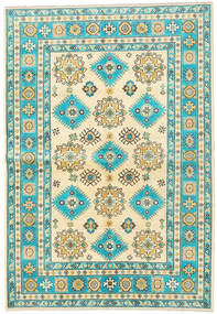 Kazak Tæppe 172X248 Ægte Orientalsk Håndknyttet Beige/Mørk Beige (Uld, Afghanistan)