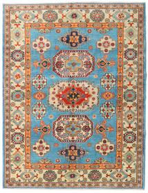 Kazak Tæppe 151X196 Ægte Orientalsk Håndknyttet Mørk Beige/Mørkebrun (Uld, Afghanistan)