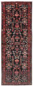 Aramnibaf Tæppe 175X473 Ægte Orientalsk Håndknyttet Tæppeløber Sort/Mørkerød (Uld, Persien/Iran)