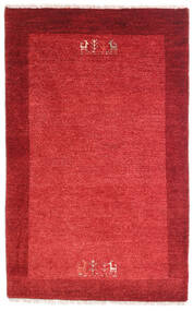 Loribaft Persia Tæppe 79X128 Ægte Moderne Håndknyttet Rød/Rust (Uld, Persien/Iran)