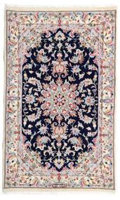 Kashmar Tæppe 77X130 Ægte Orientalsk Håndknyttet Hvid/Creme/Lysegrå (Uld, Persien/Iran)