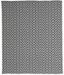 Torun - Sort/Neutral Tæppe 250X300 Ægte Moderne Håndvævet Mørkegrå/Lysegrå Stort (Bomuld, Indien)