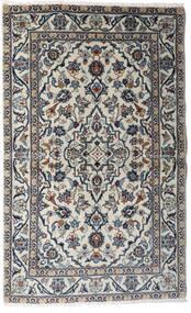 Keshan Tæppe 95X154 Ægte Orientalsk Håndknyttet Lysegrå/Mørkegrå (Uld, Persien/Iran)