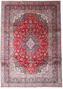 Keshan Tæppe 248X348 Ægte Orientalsk Håndknyttet Lyslilla/Lyserød (Uld, Persien/Iran)