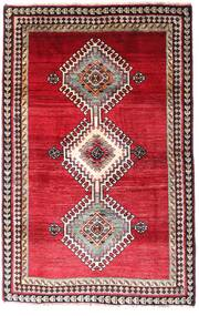 Ghashghai Tæppe 120X185 Ægte Orientalsk Håndknyttet Mørkerød/Rød (Uld, Persien/Iran)