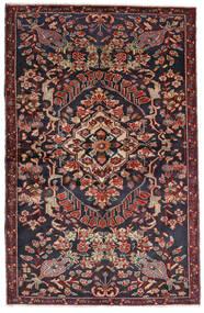 Bakhtiar Tæppe 133X205 Ægte Orientalsk Håndknyttet Mørkegrå/Mørkerød (Uld, Persien/Iran)