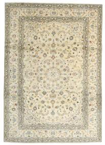 Keshan Tæppe 241X342 Ægte Orientalsk Håndknyttet Beige/Mørk Beige (Uld, Persien/Iran)