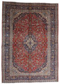 Keshan Tæppe 287X403 Ægte Orientalsk Håndknyttet Mørkerød/Mørkebrun Stort (Uld, Persien/Iran)