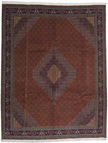 Ardebil Tæppe 306X390 Ægte Orientalsk Håndknyttet Mørkerød/Sort Stort (Uld, Persien/Iran)