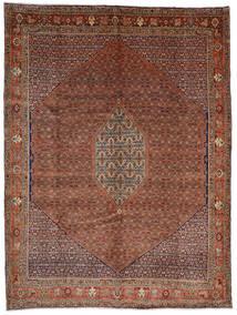 Bidjar Tæppe 308X408 Ægte Orientalsk Håndknyttet Mørkerød/Mørkebrun Stort (Uld, Persien/Iran)