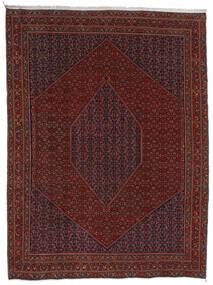 Bidjar Tæppe 304X404 Ægte Orientalsk Håndknyttet Mørkerød/Mørkebrun Stort (Uld, Persien/Iran)