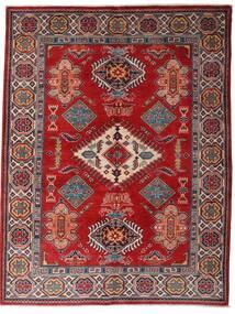 Kazak Tæppe 152X198 Ægte Orientalsk Håndknyttet Mørkerød/Mørkebrun (Uld, Afghanistan)