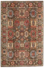 Kazak Tæppe 197X299 Ægte Orientalsk Håndknyttet Lysebrun/Mørkebrun (Uld, Afghanistan)
