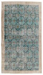 Vintage Heritage Tæppe 112X197 Ægte Moderne Håndknyttet Lysegrå/Turkis Blå (Uld, Persien/Iran)