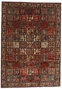 Bakhtiar Tæppe 225X317 Ægte Orientalsk Håndknyttet Mørkebrun/Mørkerød (Uld, Persien/Iran)