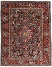 Kashmar Tæppe 296X376 Ægte Orientalsk Håndknyttet Mørkerød/Mørkegrå Stort (Uld, Persien/Iran)