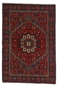 Gholtogh Tæppe 107X154 Ægte Orientalsk Håndknyttet Mørkerød/Mørkebrun (Uld, Persien/Iran)