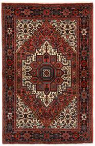Gholtogh Tæppe 104X159 Ægte Orientalsk Håndknyttet Mørkerød/Mørkegrå (Uld, Persien/Iran)