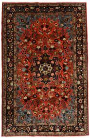 Mehraban Tæppe 188X290 Ægte Orientalsk Håndknyttet Mørkerød/Rust (Uld, Persien/Iran)