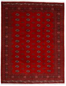 Pakistan Bokhara 3Ply Tæppe 247X318 Ægte Orientalsk Håndknyttet Mørkerød/Rød (Uld, Pakistan)