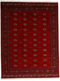 Pakistan Bokhara 3Ply Tæppe 247X319 Ægte Orientalsk Håndknyttet Mørkerød/Rød/Mørkebrun (Uld, Pakistan)