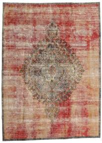 Vintage Heritage Tæppe 216X293 Ægte Moderne Håndknyttet Lysebrun/Mørkerød (Uld, Persien/Iran)