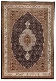 Tabriz Royal Tæppe 250X354 Ægte Orientalsk Håndknyttet Brun/Mørkebrun Stort ( Indien)