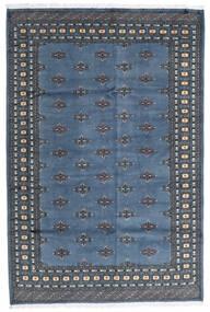 Pakistan Bokhara 2Ply Tæppe 173X258 Ægte Orientalsk Håndknyttet Blå/Mørkegrå (Uld, Pakistan)