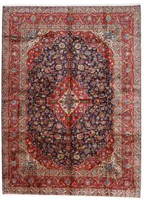Keshan Tæppe 296X400 Ægte Orientalsk Håndknyttet Mørkerød/Mørkelilla Stort (Uld, Persien/Iran)