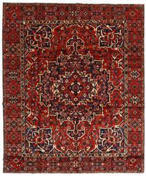Bakhtiar Tæppe 310X370 Ægte Orientalsk Håndknyttet Mørkerød/Rust Stort (Uld, Persien/Iran)