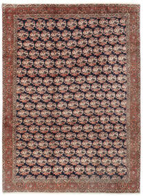 Bidjar Tæppe 254X343 Ægte Orientalsk Håndknyttet Mørkerød/Brun Stort (Uld, Persien/Iran)