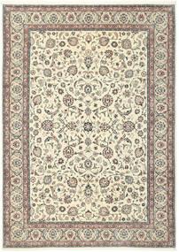 Kashmar Tæppe 244X344 Ægte Orientalsk Håndknyttet Beige/Lysegrå (Uld/Silke, Persien/Iran)