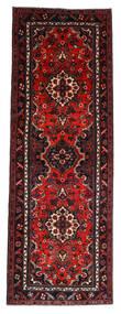 Hamadan Tæppe 112X314 Ægte Orientalsk Håndknyttet Tæppeløber Mørkerød/Rust (Uld, Persien/Iran)