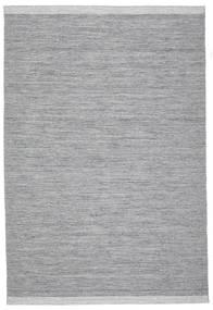 Serafina - Mørkegrå Melange Tæppe 200X300 Ægte Moderne Håndvævet Lysegrå/Lyseblå (Uld, Indien)