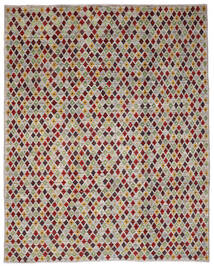 Moroccan Berber - Afghanistan Tæppe 235X288 Ægte Moderne Håndknyttet Lysegrå/Olivengrøn (Uld, Afghanistan)