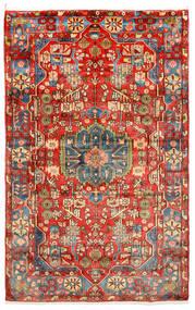 Nahavand Old Tæppe 155X258 Ægte Orientalsk Håndknyttet Mørkerød/Rød (Uld, Persien/Iran)