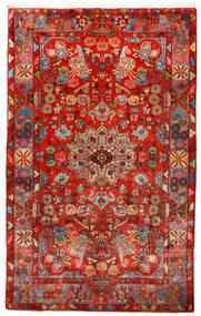 Nahavand Old Tæppe 150X245 Ægte Orientalsk Håndknyttet Mørkerød/Rød (Uld, Persien/Iran)