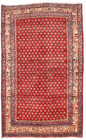 Arak Tæppe 125X205 Ægte Orientalsk Håndknyttet Mørkerød/Rød (Uld, Persien/Iran)