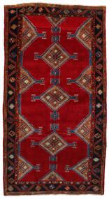 Koliai Tæppe 160X303 Ægte Orientalsk Håndknyttet Tæppeløber Mørkerød/Rød (Uld, Persien/Iran)