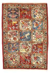 Bakhtiar Collectible Tæppe 110X157 Ægte Orientalsk Håndknyttet Mørkegrå/Beige (Uld, Persien/Iran)