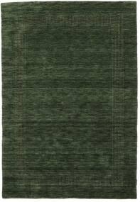 Handloom Gabba - Skovgrøn Tæppe 160X230 Moderne Mørkegrøn (Uld, Indien)
