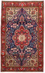 Tabriz Tæppe 100X165 Ægte Orientalsk Håndknyttet Rust/Mørkegrå (Uld, Persien/Iran)