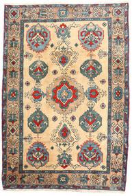 Ardebil Tæppe 114X168 Ægte Orientalsk Håndknyttet Beige/Lysebrun (Uld, Persien/Iran)