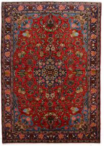Mehraban Tæppe 162X230 Ægte Orientalsk Håndknyttet Mørkebrun/Sort (Uld, Persien/Iran)